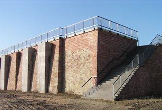 Stützmauer DNA St. Ingbert